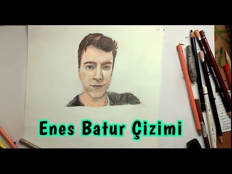 Ndng Enes Batur Cizimi Youtube Cards Baseball Cards
