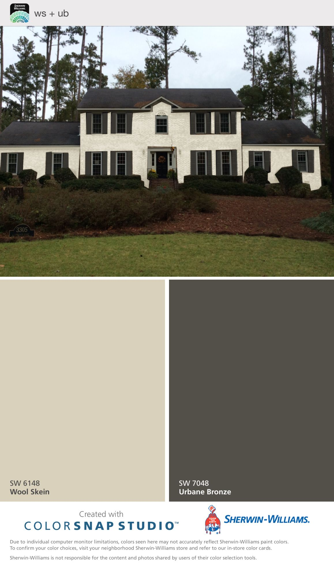 Wool Skein Urbane Bronze Home Renovation In 2019