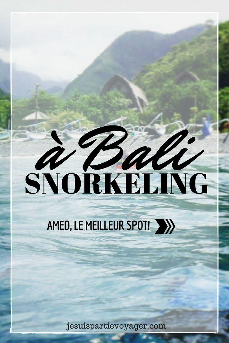 Amed est une des meilleures destination snorkeling de Bali, de beaux fonds marins avec des coraux en pagaille et même des épaves à découvrir !