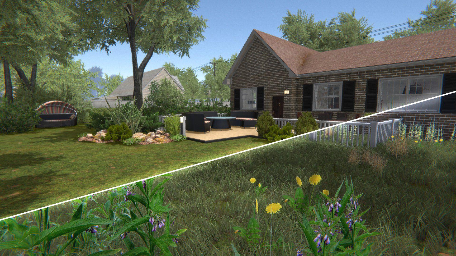 House Flipper Dlc Allows You To Flip Gardens House Flippers Garden Tree House Garden Design