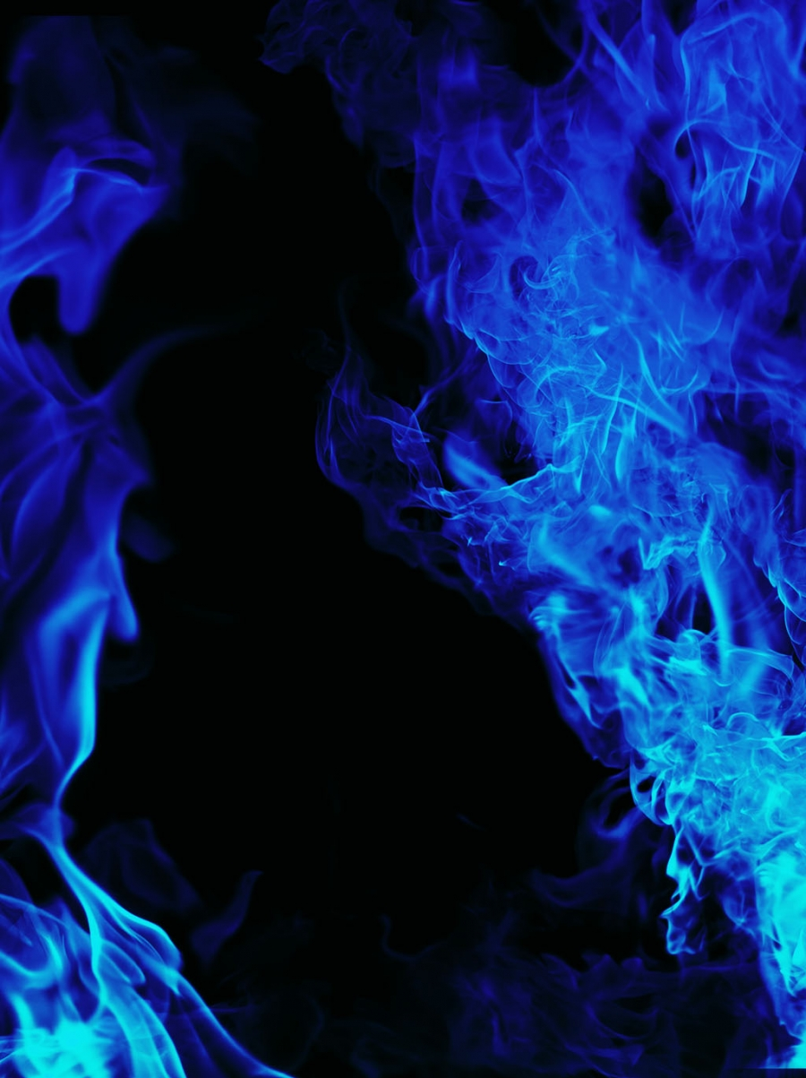 Blue Hd Flame Background Picture Background Pictures Background Blue Aesthetic Pastel