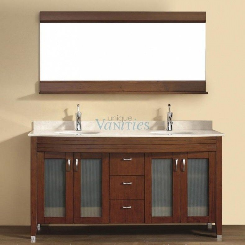 54 Inch Bathroom Vanity Double Sink Double Sink Bathroom Vanity