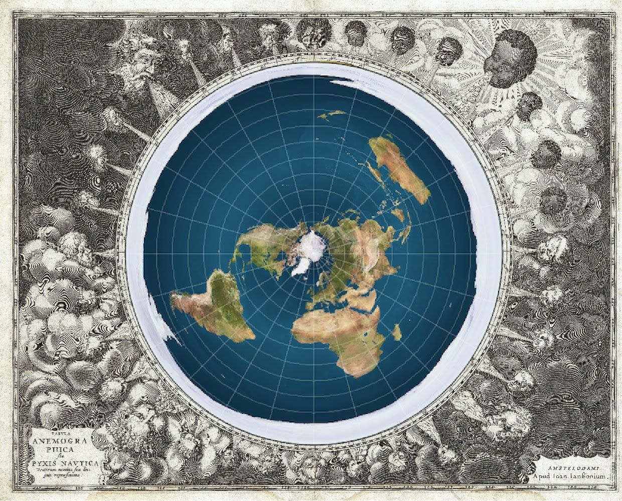 Zetetic cosmogony earth not a globe but a static plane circle the earth is flat explained gumiabroncs Images