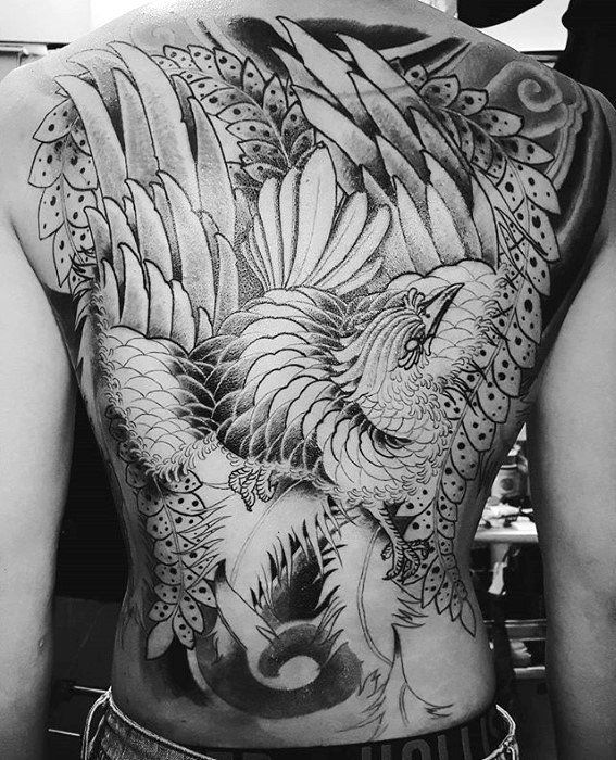 50 Japanese Phoenix Tattoo Designs For Men Mythical Ink Ideas Phoenix Tattoo Tattoos Phoenix Tattoo Design