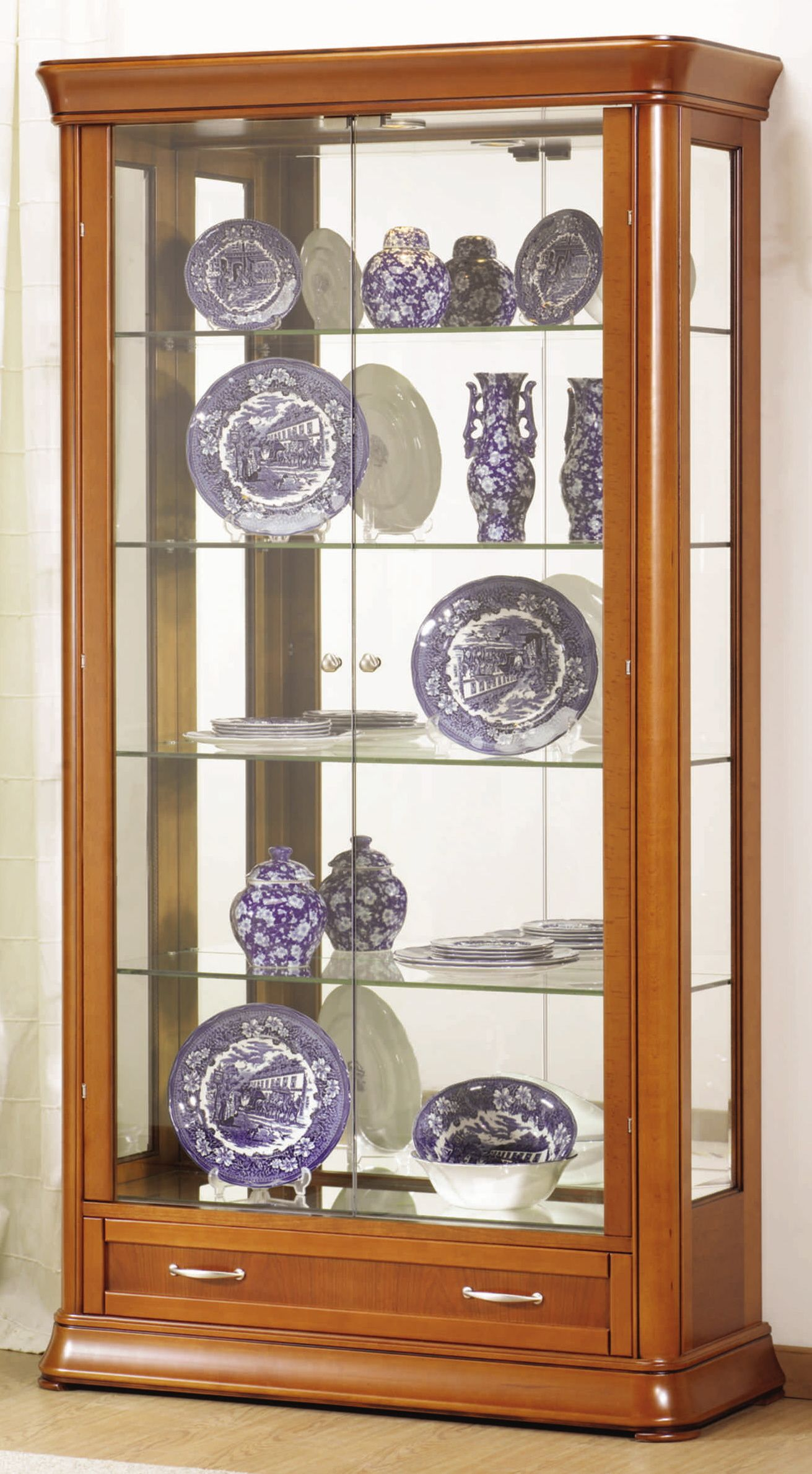 Pin By J R Me Colin On Vitrine En Bois Armoire Buffet Vitrine Pour  # Photos Vitrine En Bois