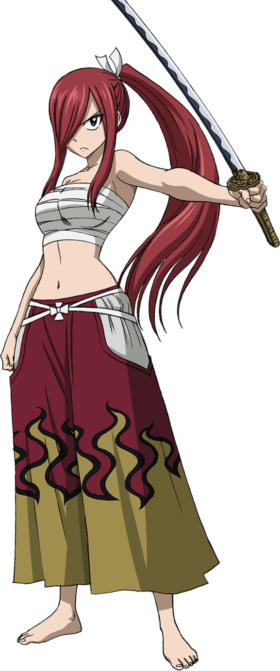 Erza Scarlet, Anime: fairy tail by christioni96 on DeviantArt