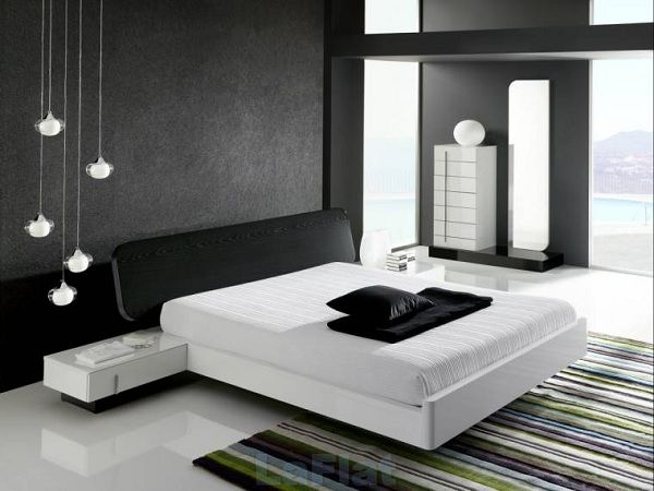 1000 images about zuhause on pinterest bed table modern and deko schlafzimmer modernes schlafzimmer schwarz - Schlafzimmer Modern Schwarz Wei