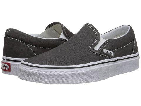 b41fc78615 Vans Classic Slip-On™ Core Classics Black Black (Canvas) - Zappos.com Free  Shipping BOTH Ways