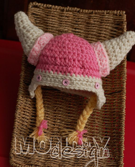 Viking hat!. ..for our little Barbarians | Knit Wit | Pinterest ...