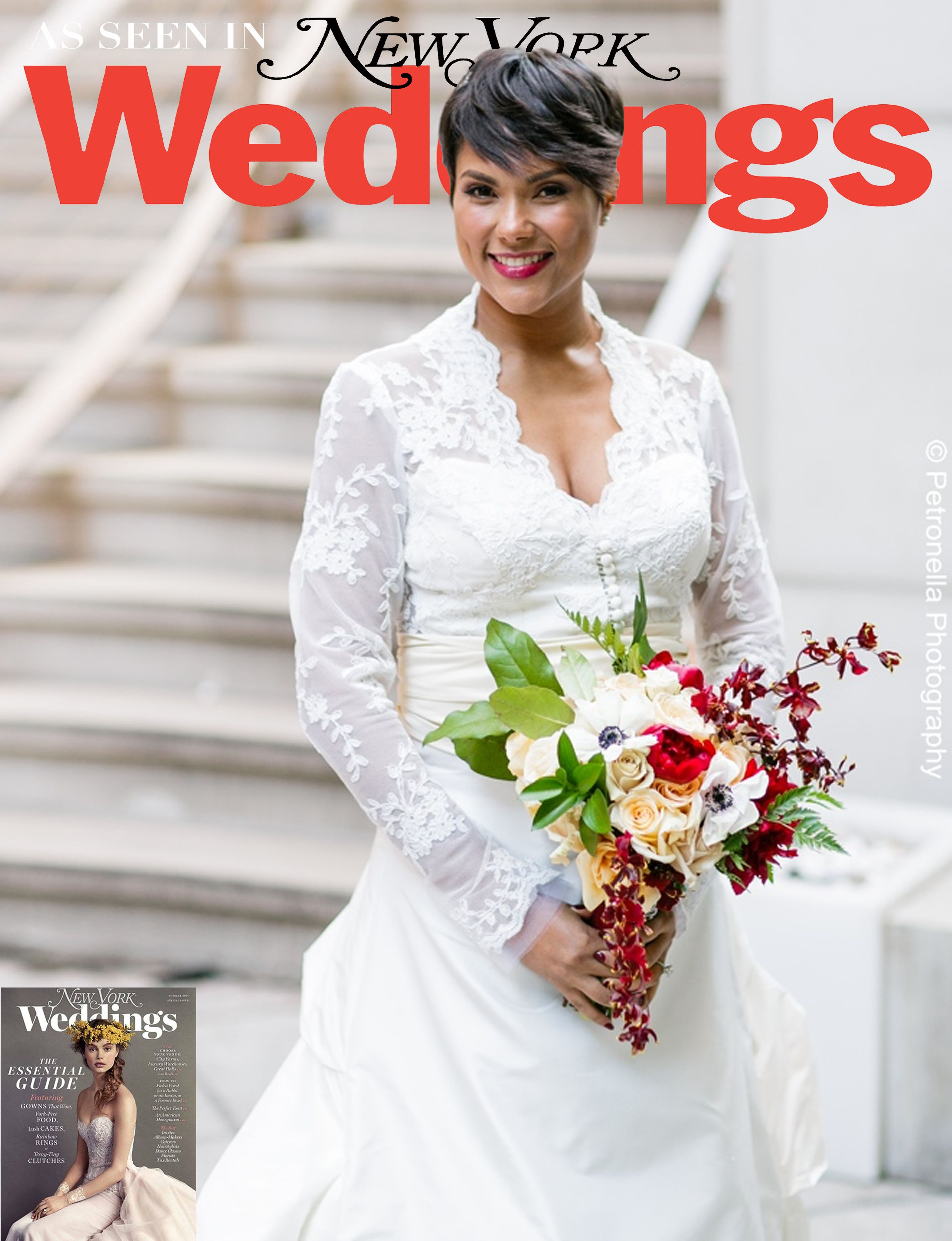 Real Wedding Album: A Cozy Dinner in Harlem | Weddings