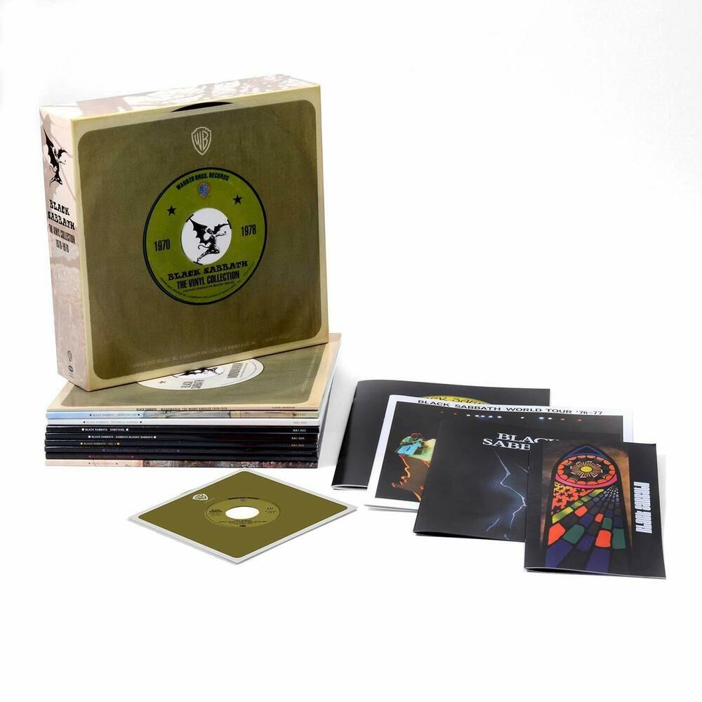 Black Sabbath Vinyl Collection 1970 1978 Box Set Lp Record Album In Shrink In 2020 Black Sabbath Boxset Lp Box