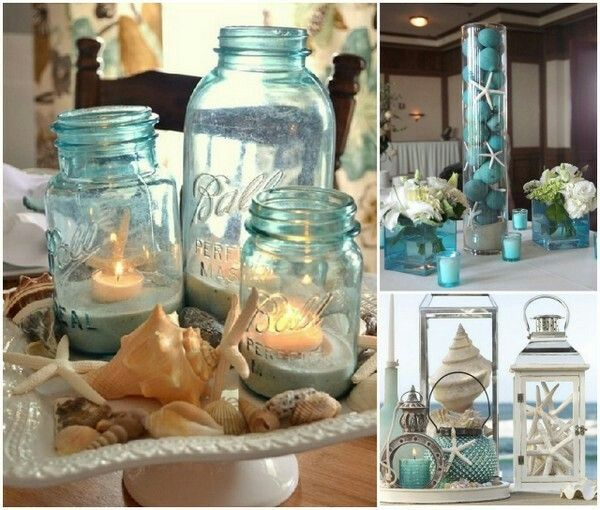 Beach Wedding Ideas Mason Jars: Pin By Desiree Sepeda On My Wedding