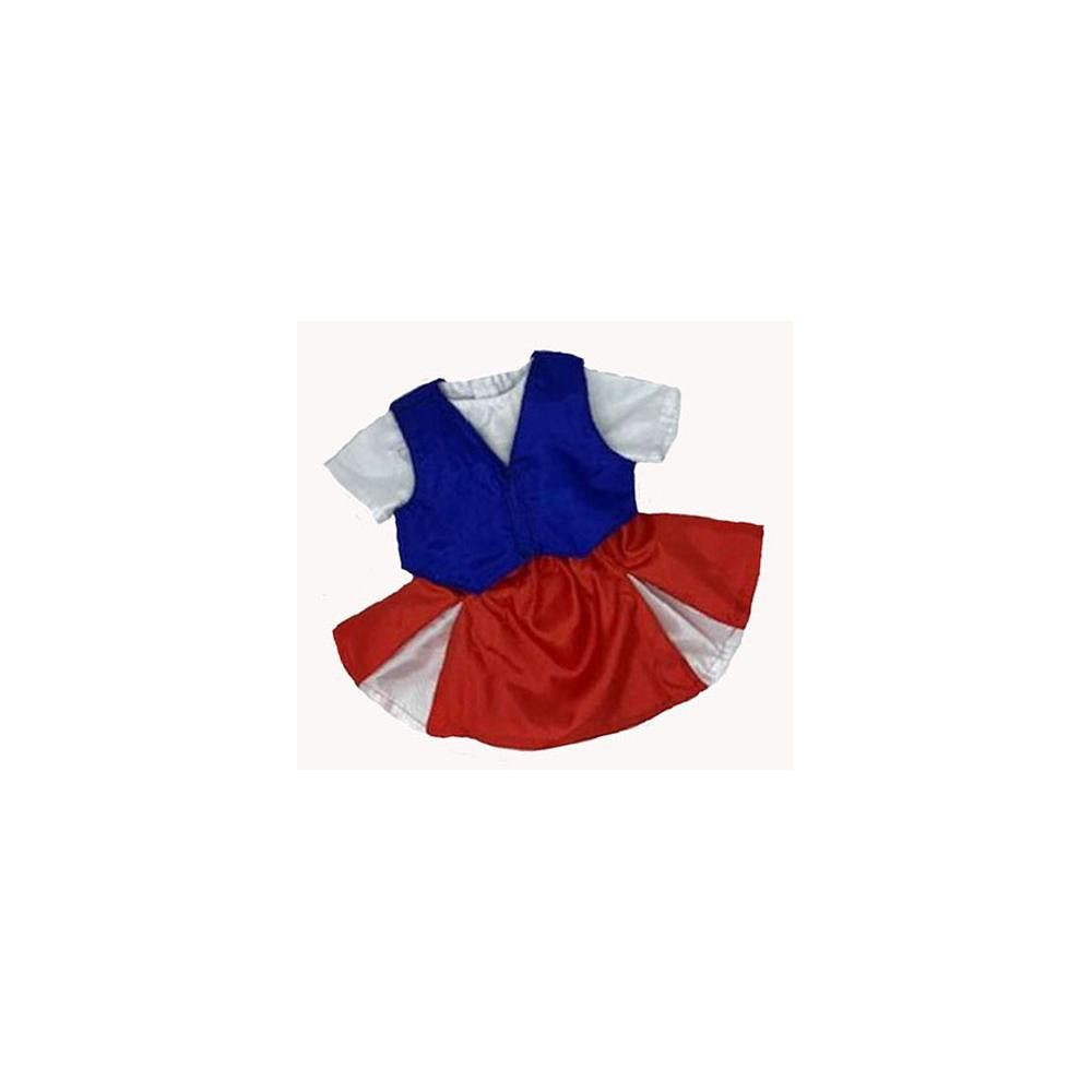 Doll Clothes Superstore American Cheerleader For Cabbage Patch Kid Dolls #18inchcheerleaderclothes