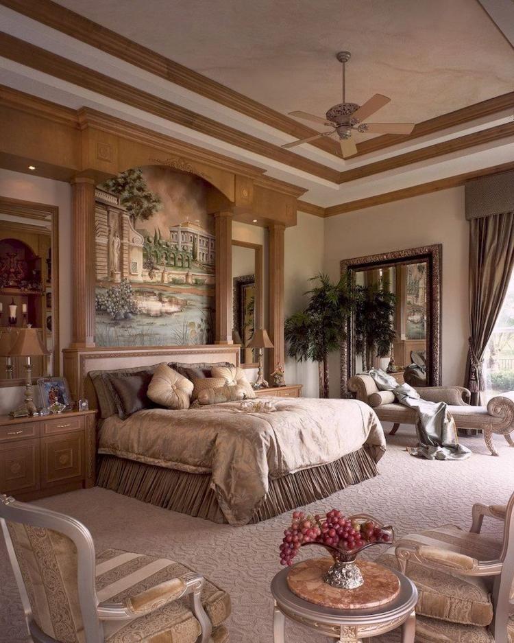 Best 35 Cozy Romantic Mediterranean Master Bedroom Ideas 400 x 300