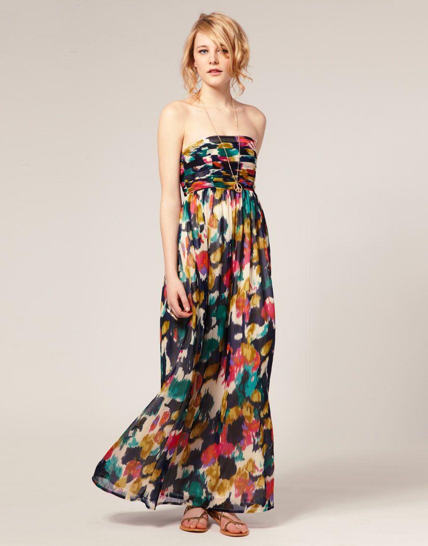 Asos Asos Multi Smudge Print Maxi Dress At Asos Asos Maxi Dress Maxi Dress Gorgeous Maxi Dresses [ 1110 x 870 Pixel ]