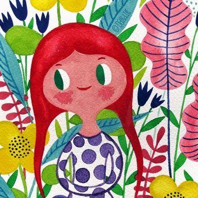 Pinzellades al món: Il·lustracions d'Helen Dardik: flors, ocells i alegria primaveral