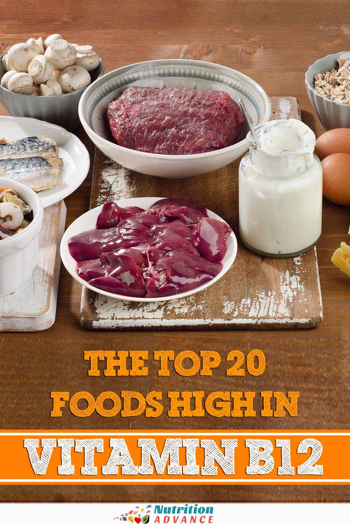 The Top 20 Foods High In Vitamin B12 B12 foods, Vitamin