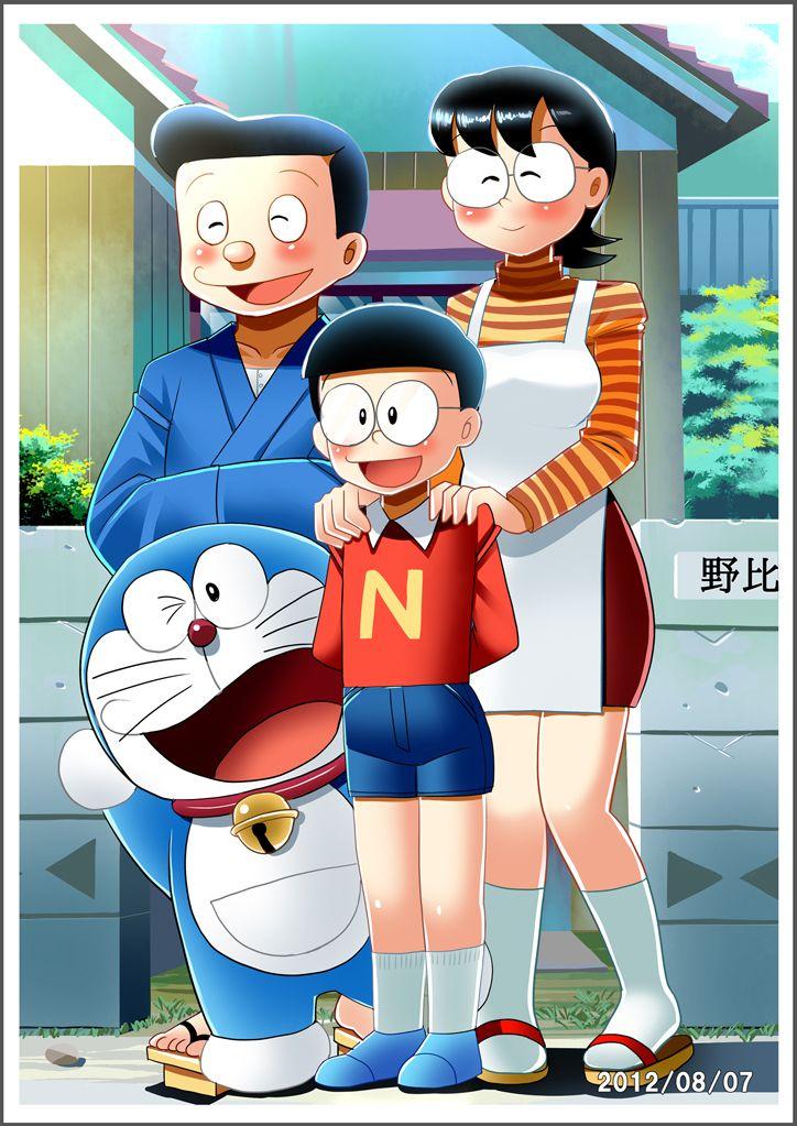 a complete family doraemon nobita pinterest doraemon anime