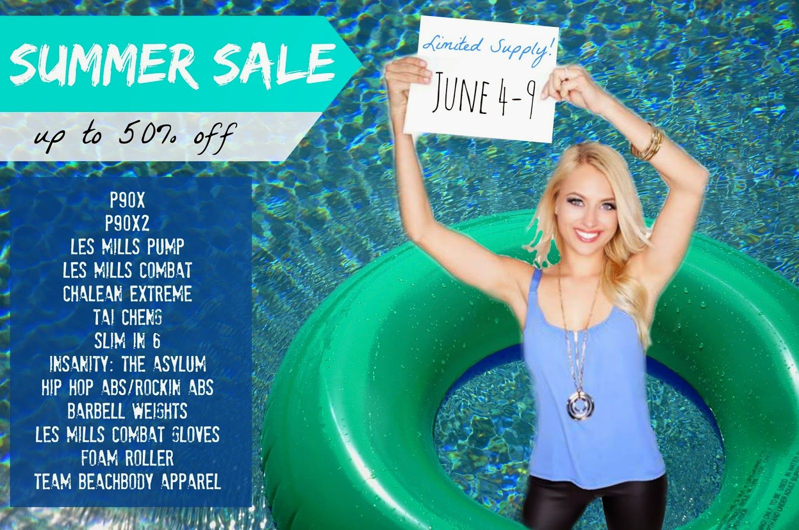 Team Beachbody Summer Sale Promo