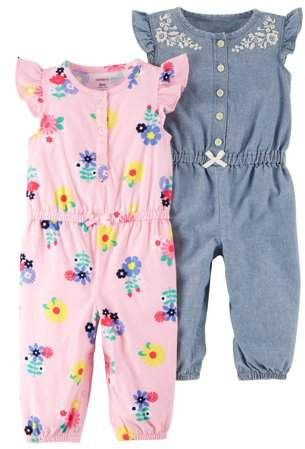 51a20ccaa Carter s Carters Baby Girl One Piece Rompers