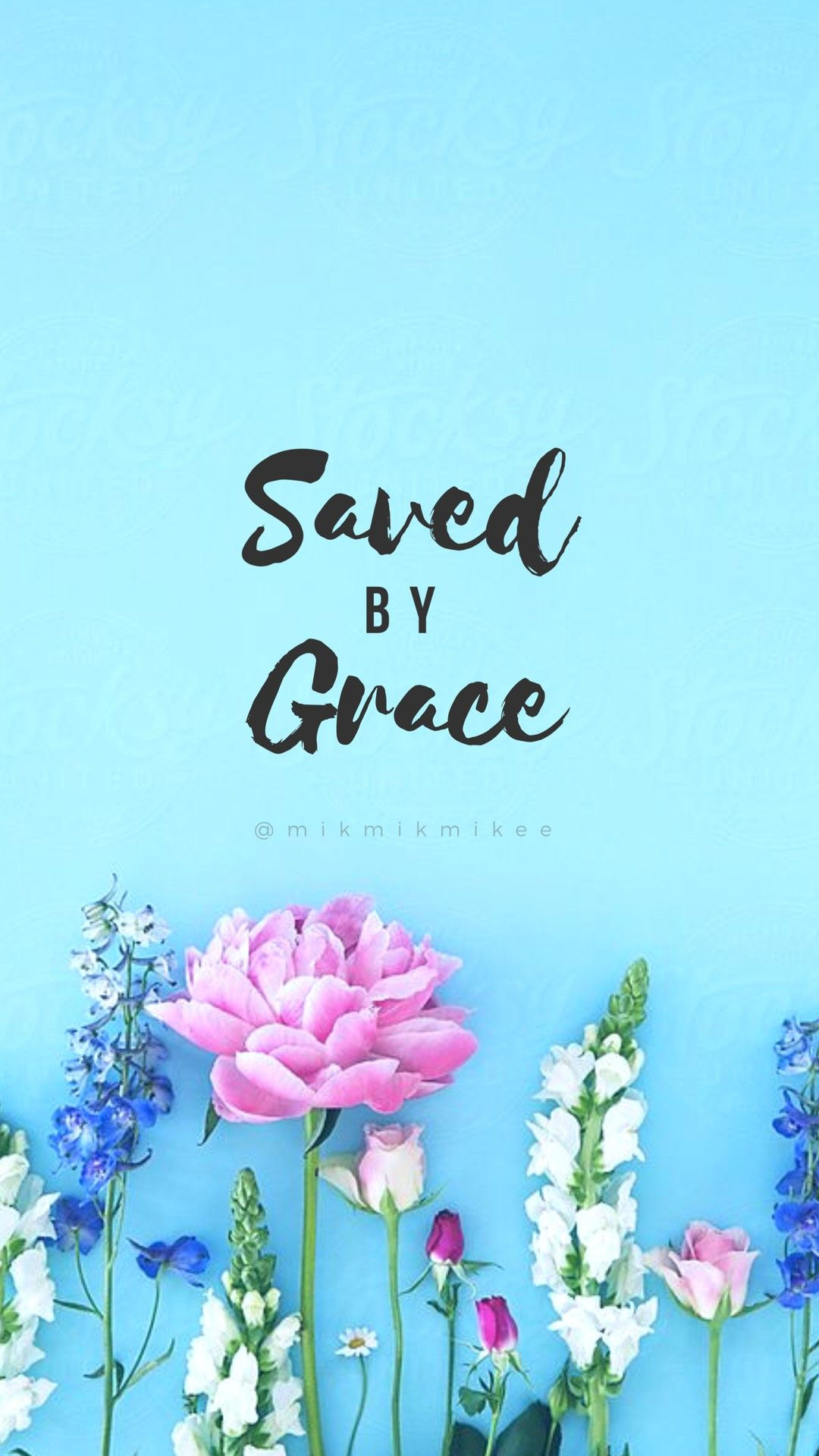 Saved By Grace Wallpaper By Mikmikmikee Catholic Wallpaper Lock Screen Wallpaper Iphone Phone Wallpaper
