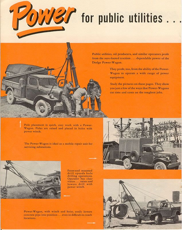 Car Brochures  Dodge Power Wagon Brochure  ScanJpg  Dodge