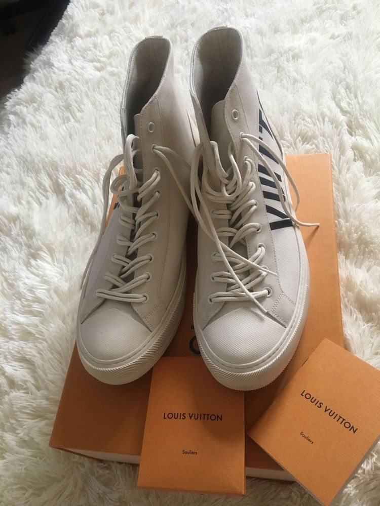 0a5ce8ec89b8 NEW Louis Vuitton Tattoo Sneaker Shoe Size 10 UK EUR 44 US 10.5  fashion   clothing  shoes  accessories  mensshoes  casualshoes (ebay link)