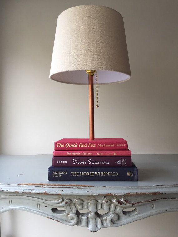 Book Lamp Made From Books Fox Sparrow Woodland Wonder ...