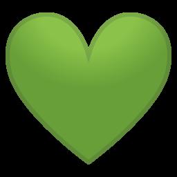 Green Heart Icon Heart Icons Emoji People Heart Emoji