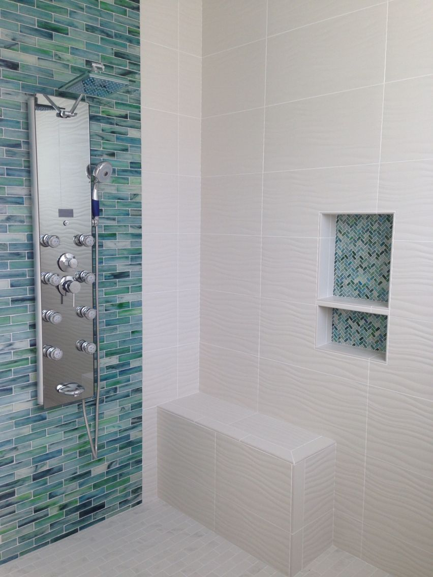 Remodel spa bath finished. I will post tile names, brand and cost in ...