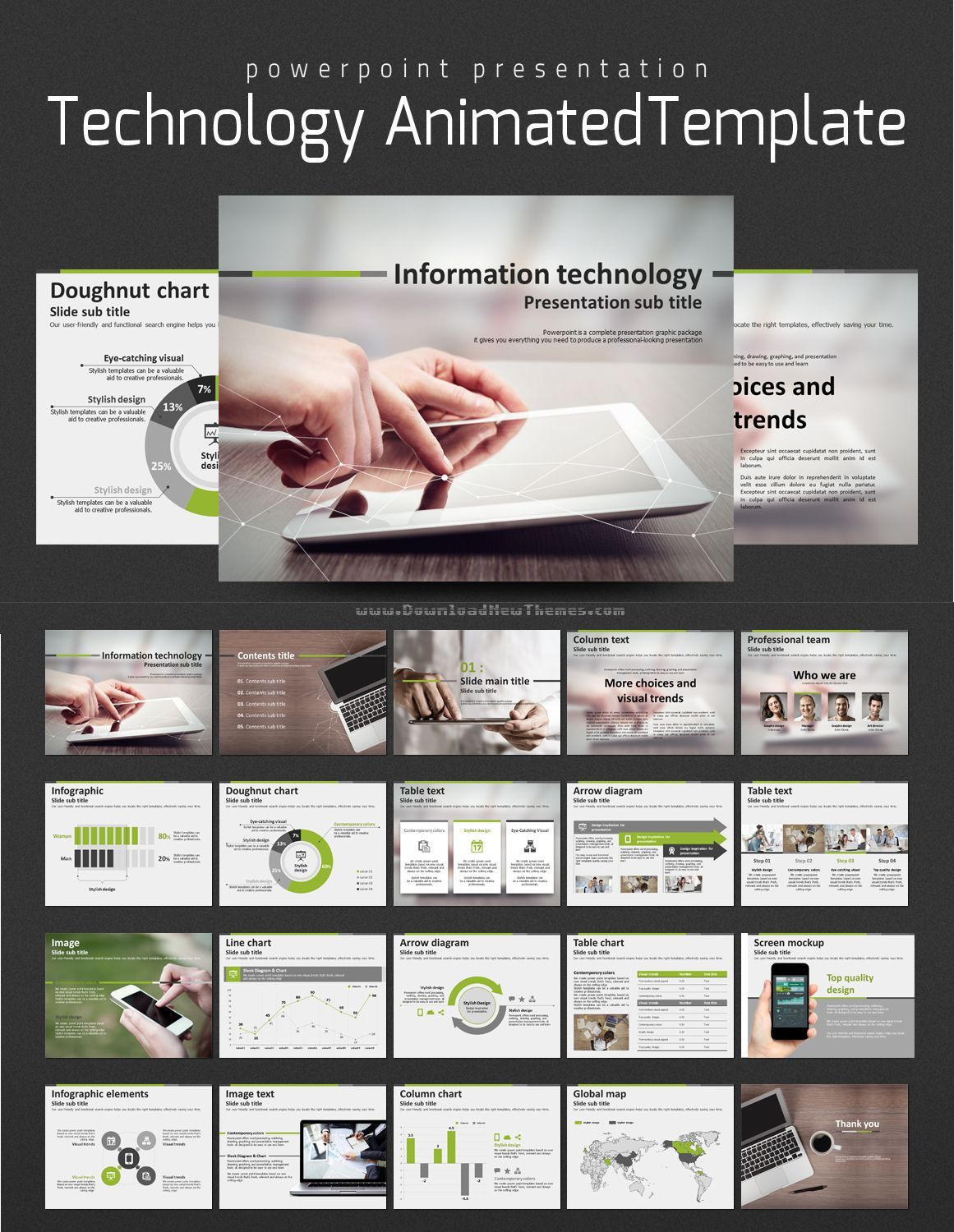 Technology animated template pinterest template technology animated powerpoint template will be found appropriate and suitable for it businesses especially for introducing mechanics technology and toneelgroepblik Choice Image