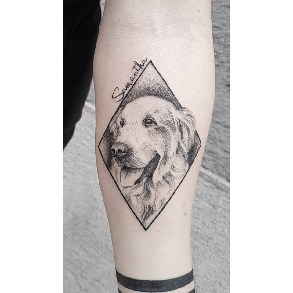 40 Golden Retriever Tattoo Designs For Men – Dog Ink Ideas forecast