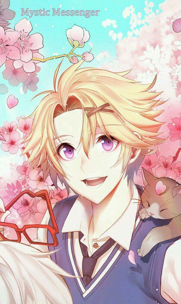 Mystic Messenger Fotoğraf Albümü Seni anime, Anime anak