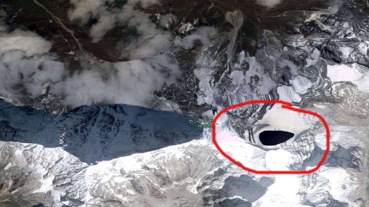 kongka la in Himalayas
