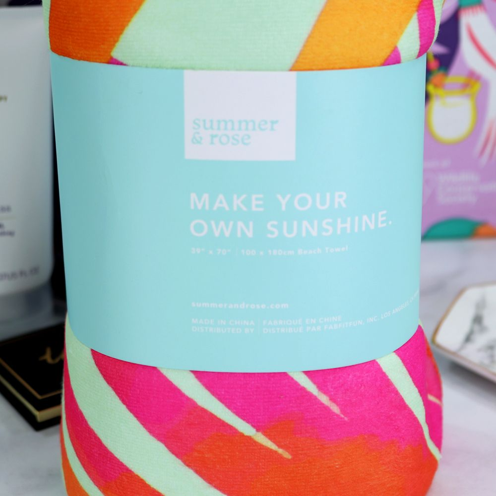 Fabfitfun Summer 2018 Unboxing And Giveaway Cruelty Free Beauty