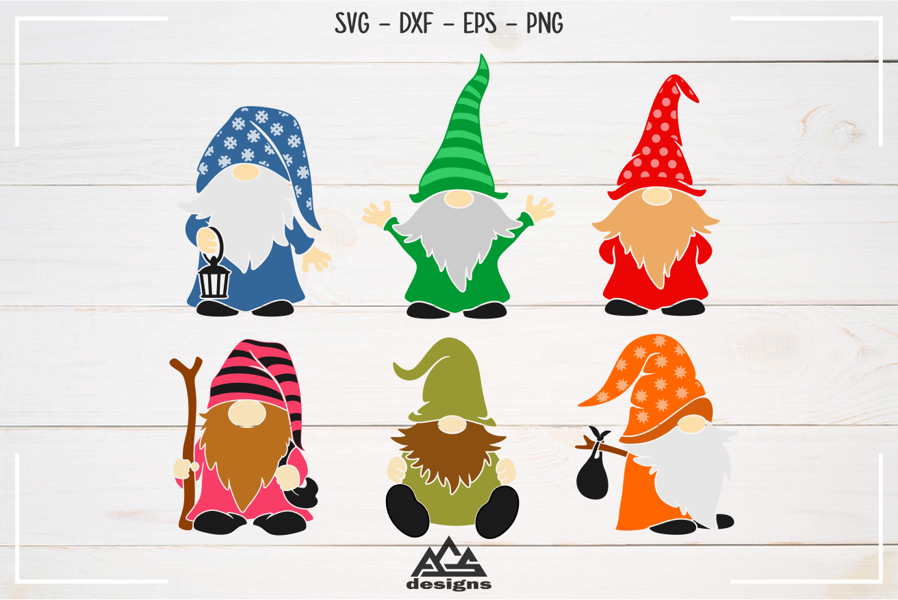 Download Gnome Gnomes Svg Design | Graphic design templates, Design ...