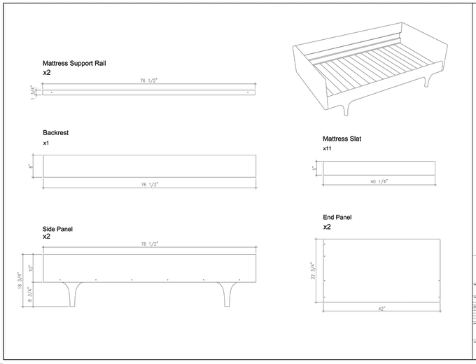 do technical drawing, line art, image to vector by autocad | Joinery