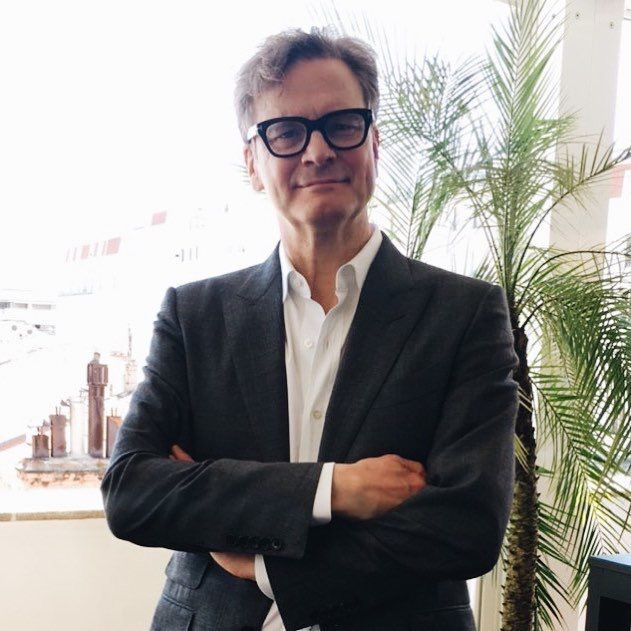 Colin Firth in Cannes, may 2017
