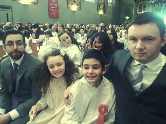 Confirmation day.