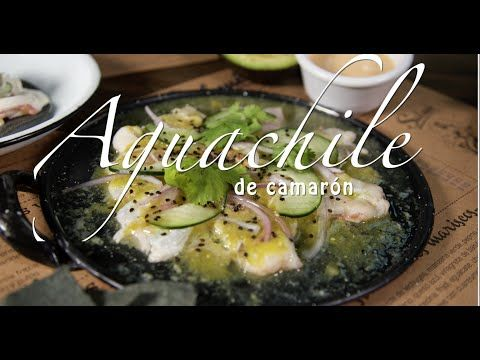 Cómo hacer aguachile de camarón - How to make a shrimp aguachile - YouTube