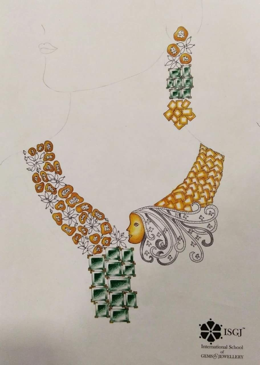 Pin by jak on DESIGN SKETCHES1 world jewellery Designers