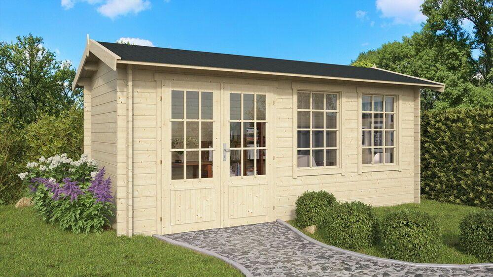 eBay Sponsored Topgarden Gartenhaus LUNA; 500x250 cm ISO