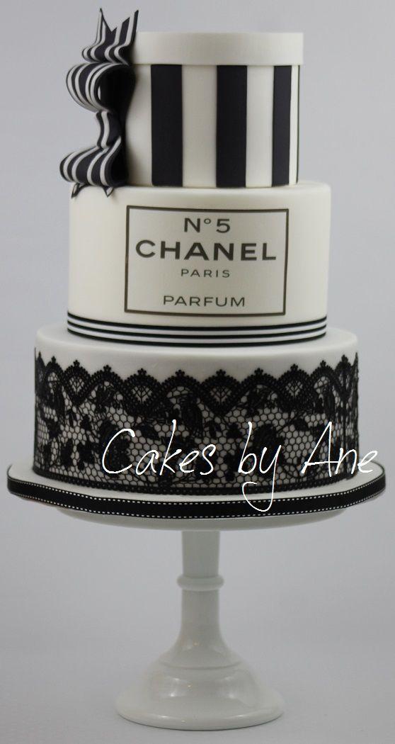 Chanel Cake  tolle Torten und Kuchen  Torten Chanel