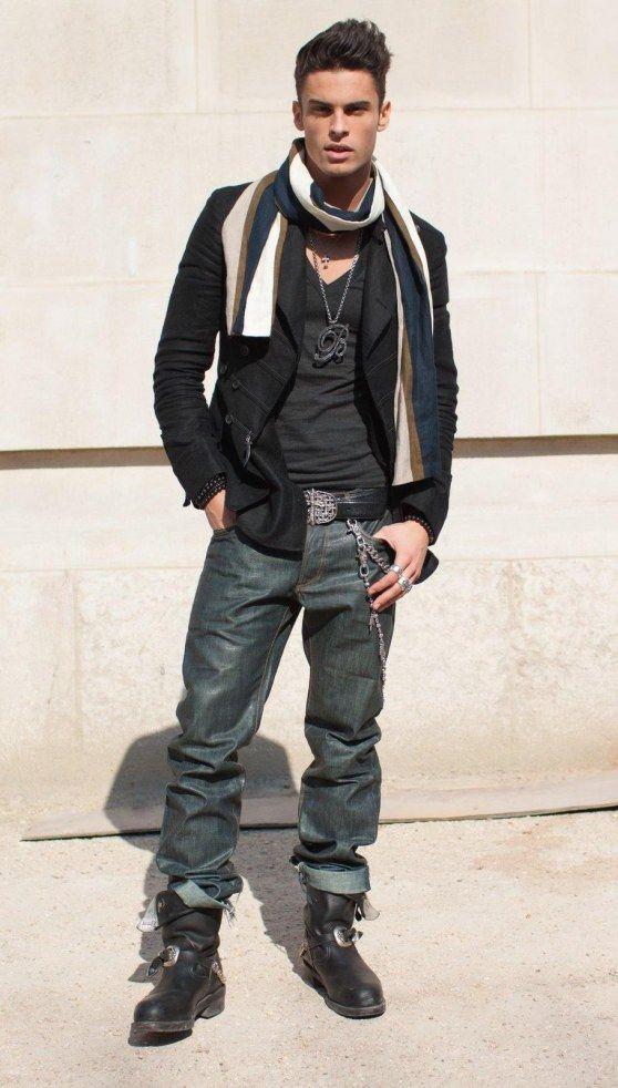Baptiste Giabiconi vestido por Chanel