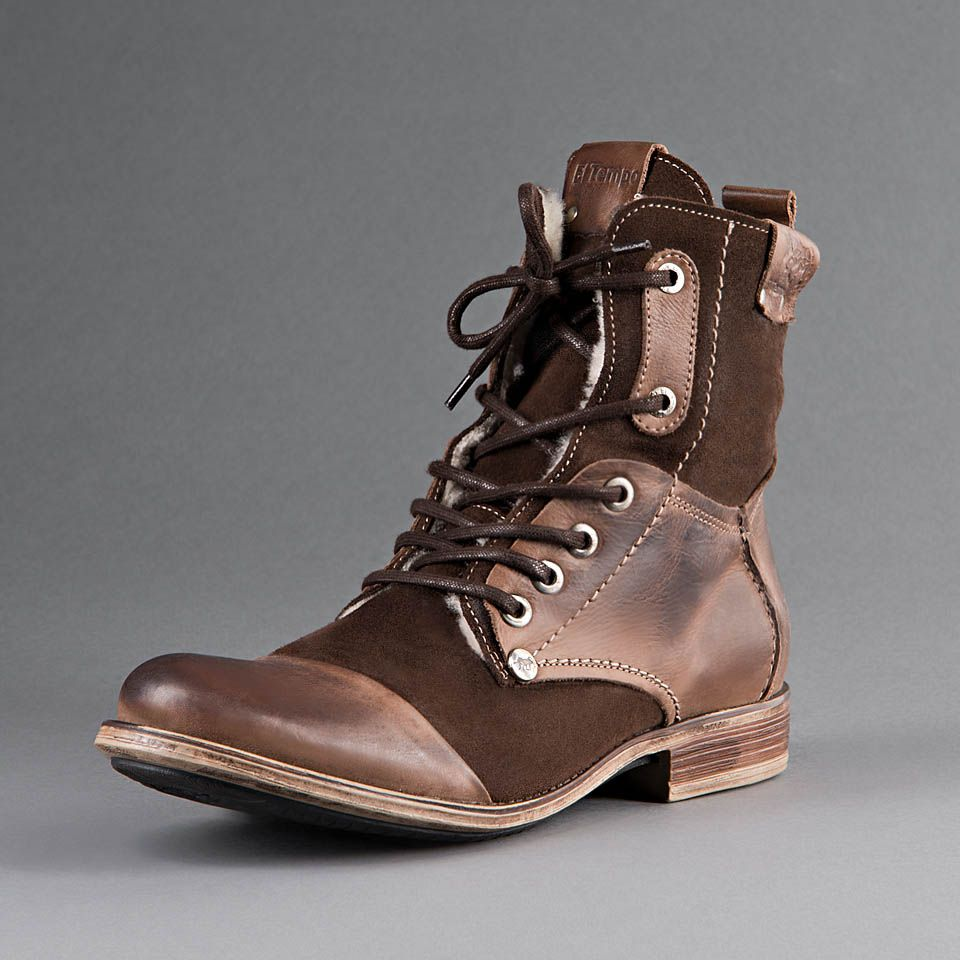 El Tempo — 118 #boots #leather #fashion | Unique men's footwear ...
