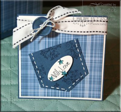 Pocket (insert note or gift card)