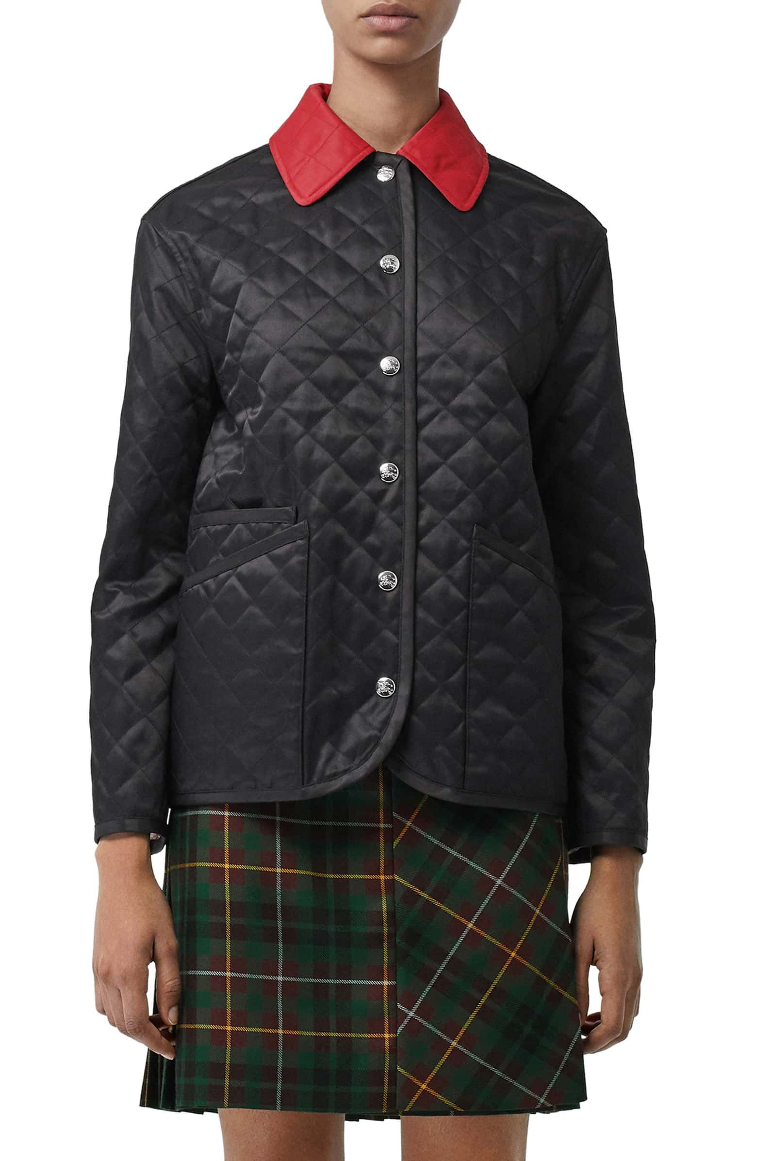 Burberry Dranefield Diamond Quilted Jacket Quilted Jacket