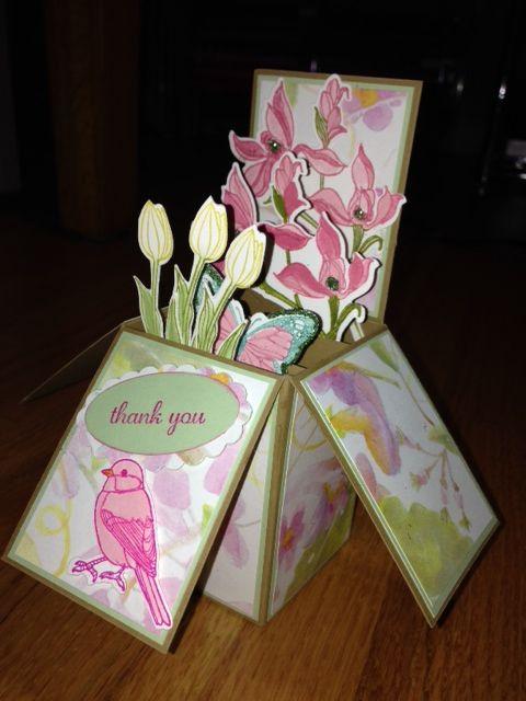 Thank You Box Card