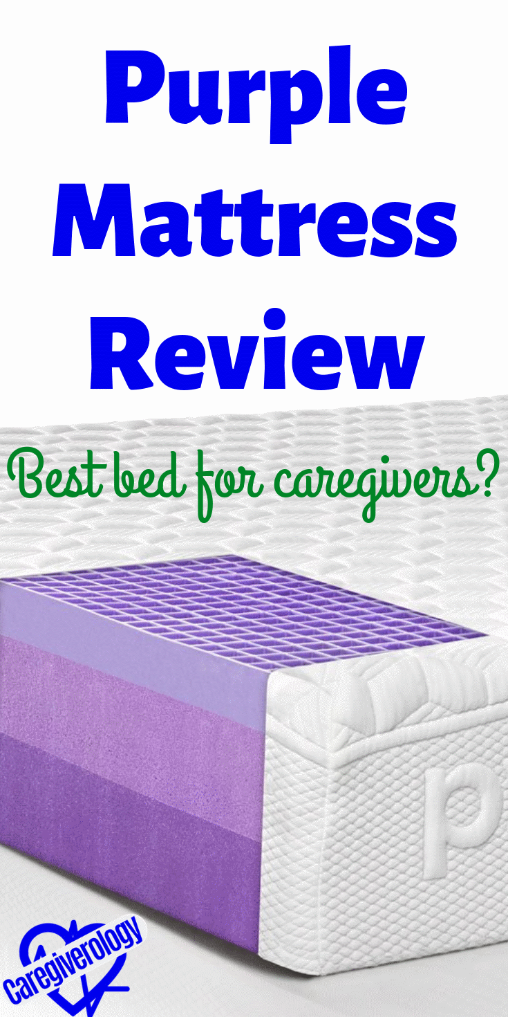 Purple Mattress Review Best Bed for Caregivers in 2020