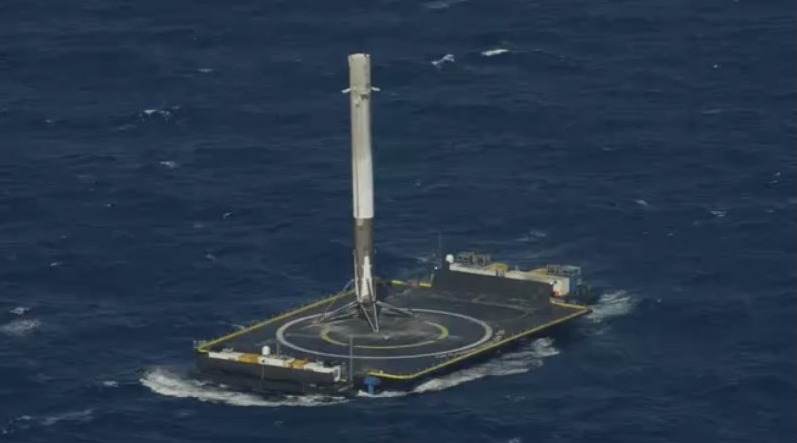 spacex picks rocket for first relaunch